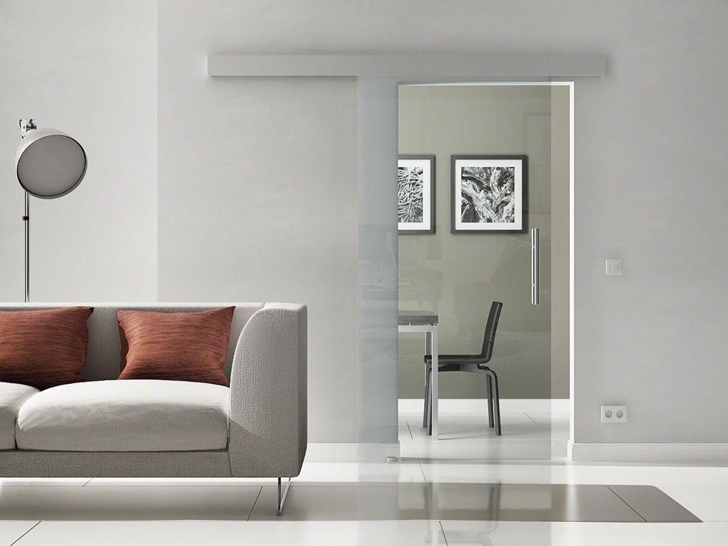 levidor porta scorrevole vetro design vetro trasparente softclose ...