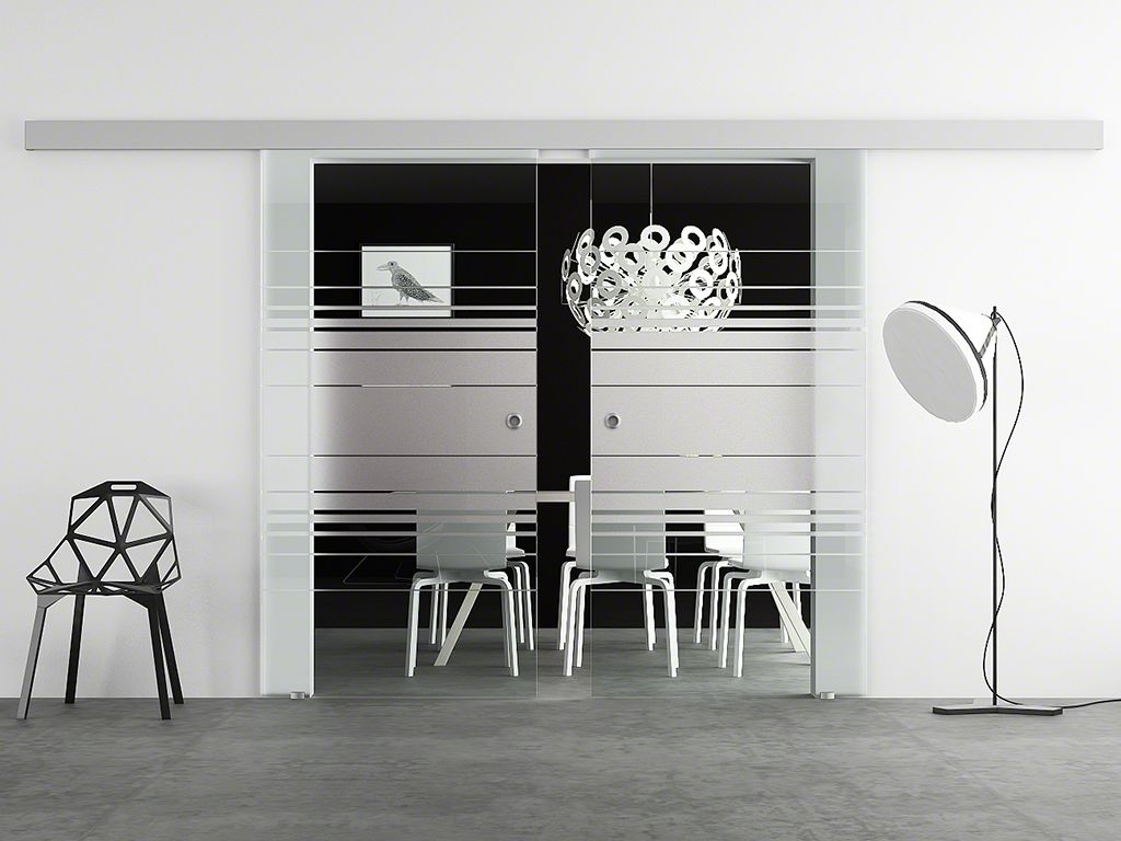 hadeco doppel glasschiebet r design hamburg. Black Bedroom Furniture Sets. Home Design Ideas