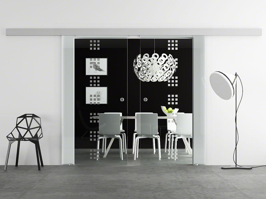 hadeco doppel glasschiebet r design stuttgart. Black Bedroom Furniture Sets. Home Design Ideas