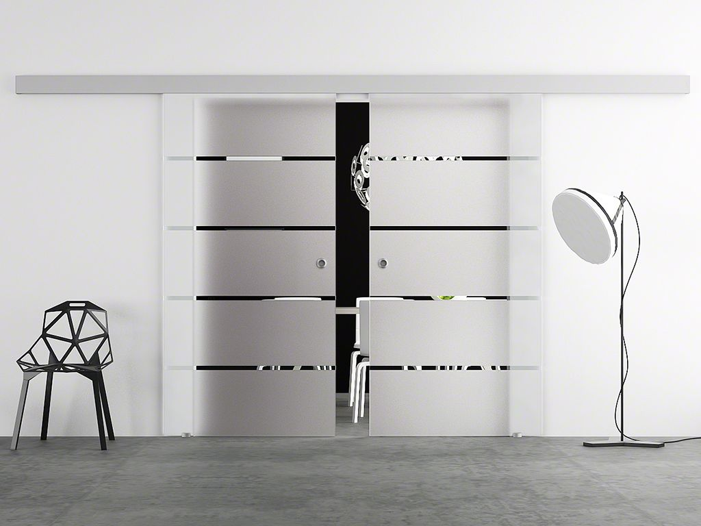 hadeco doppel glasschiebet r design berlin. Black Bedroom Furniture Sets. Home Design Ideas