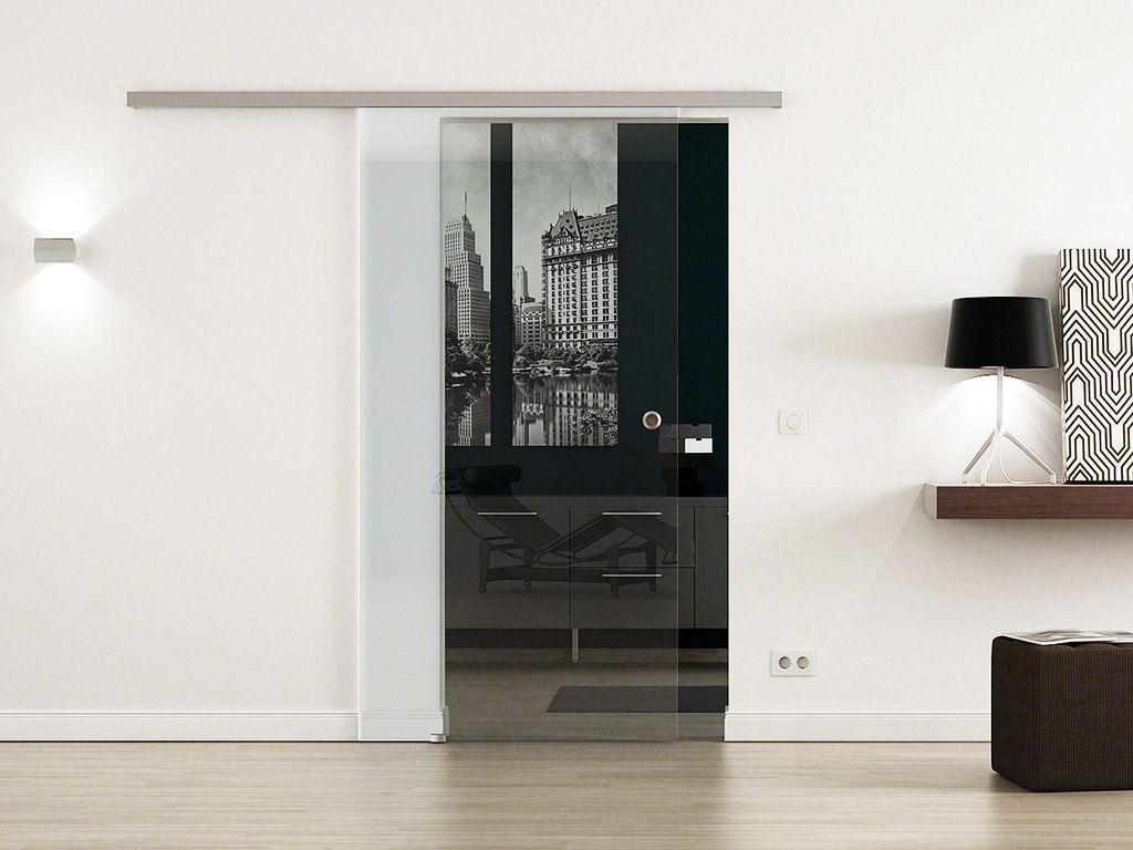 levidor softclose glasschiebet r klarglas. Black Bedroom Furniture Sets. Home Design Ideas